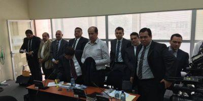 """Exdiputado Luis Mijangos es llevado a Tribunales donde le imputarán nuevos cargos por """"Plazas fantasma"""""""