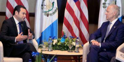 En Washington, Joe Biden revela sus apreciaciones de la toma de posesión de Jimmy Morales
