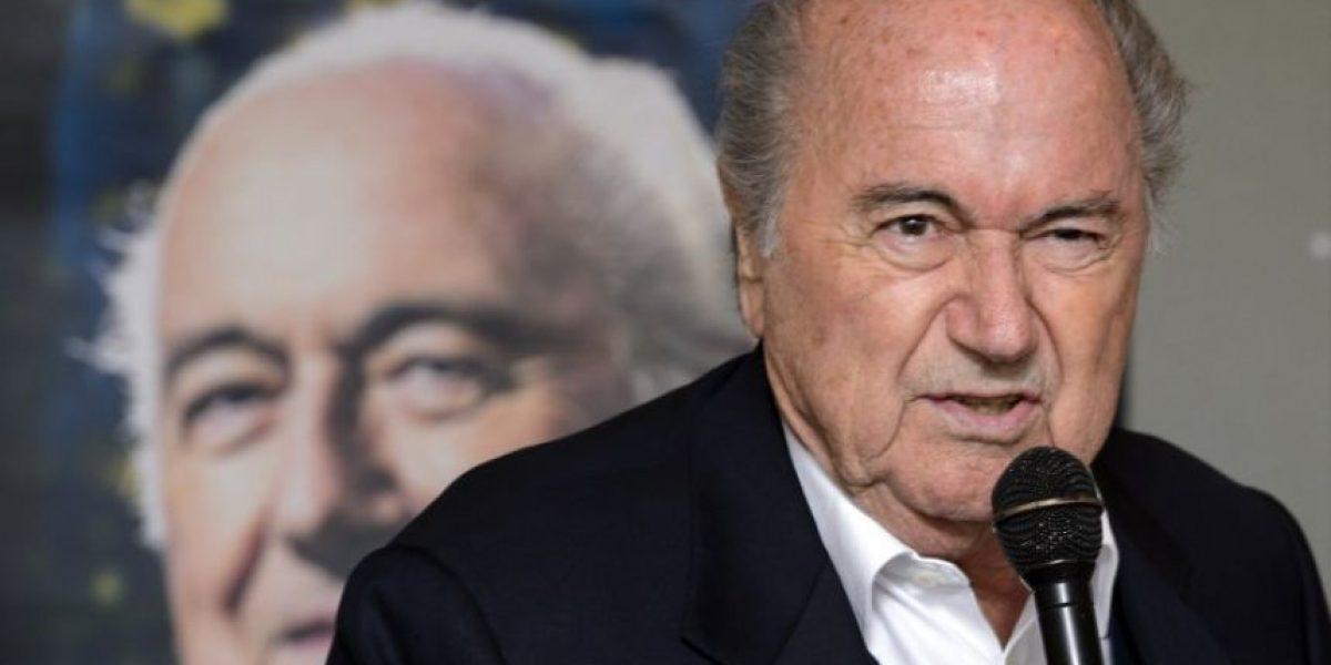 FIFA abre caso de soborno contra Joseph Blatter y dos dirigentes más