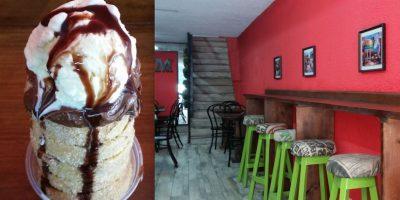 Café Praga: Churros artesanales horneados que no puedes perderte