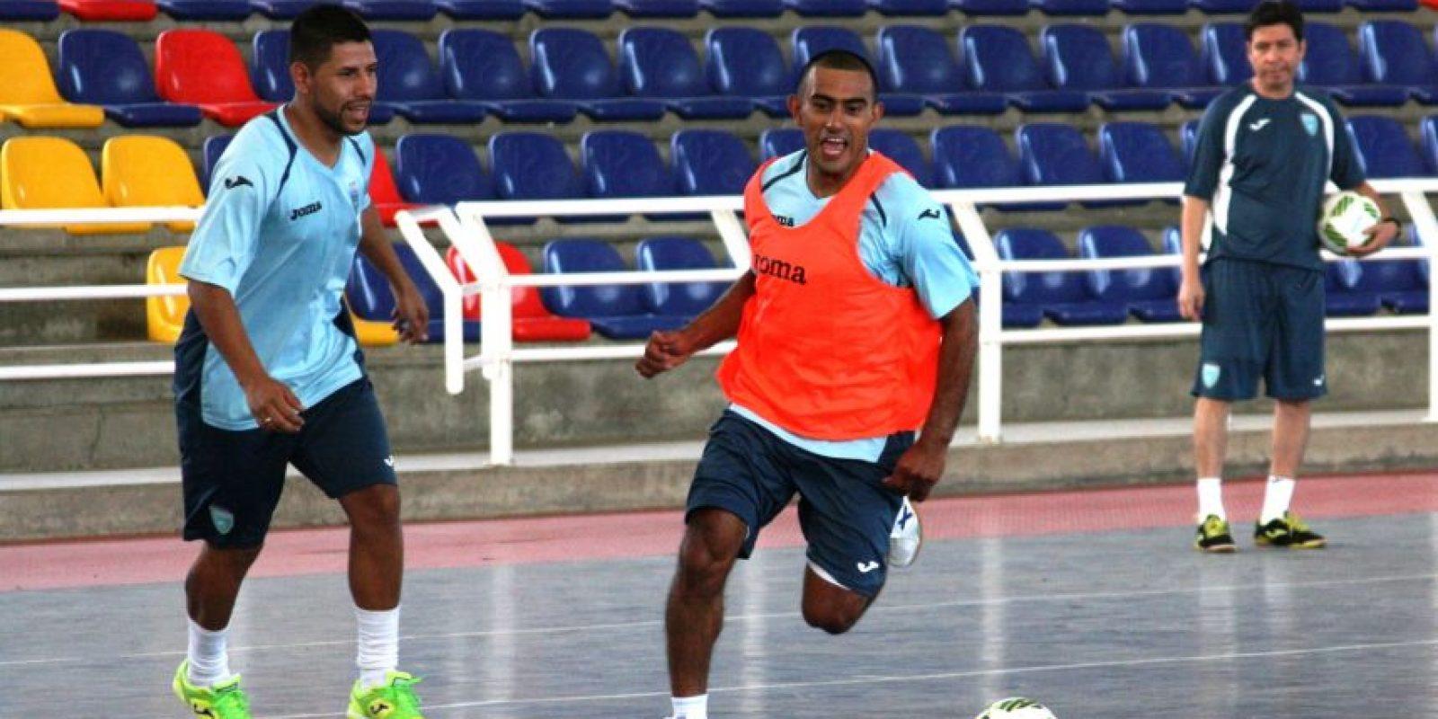 Guatemala se entrenó por primera vez en Cali el viernes y el domingo debutará contra Vietnam. Foto:Fedefut y CDG
