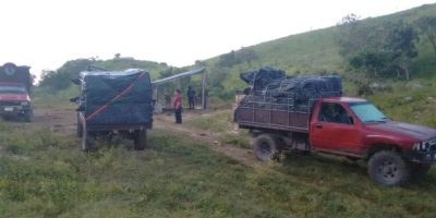 Interceptan a contrabandistas de cigarrillos en Melchor de Mencos, Petén