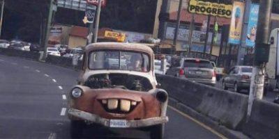 """FOTOS. ¿Estrella de """"Cars"""" en Guatemala?"""