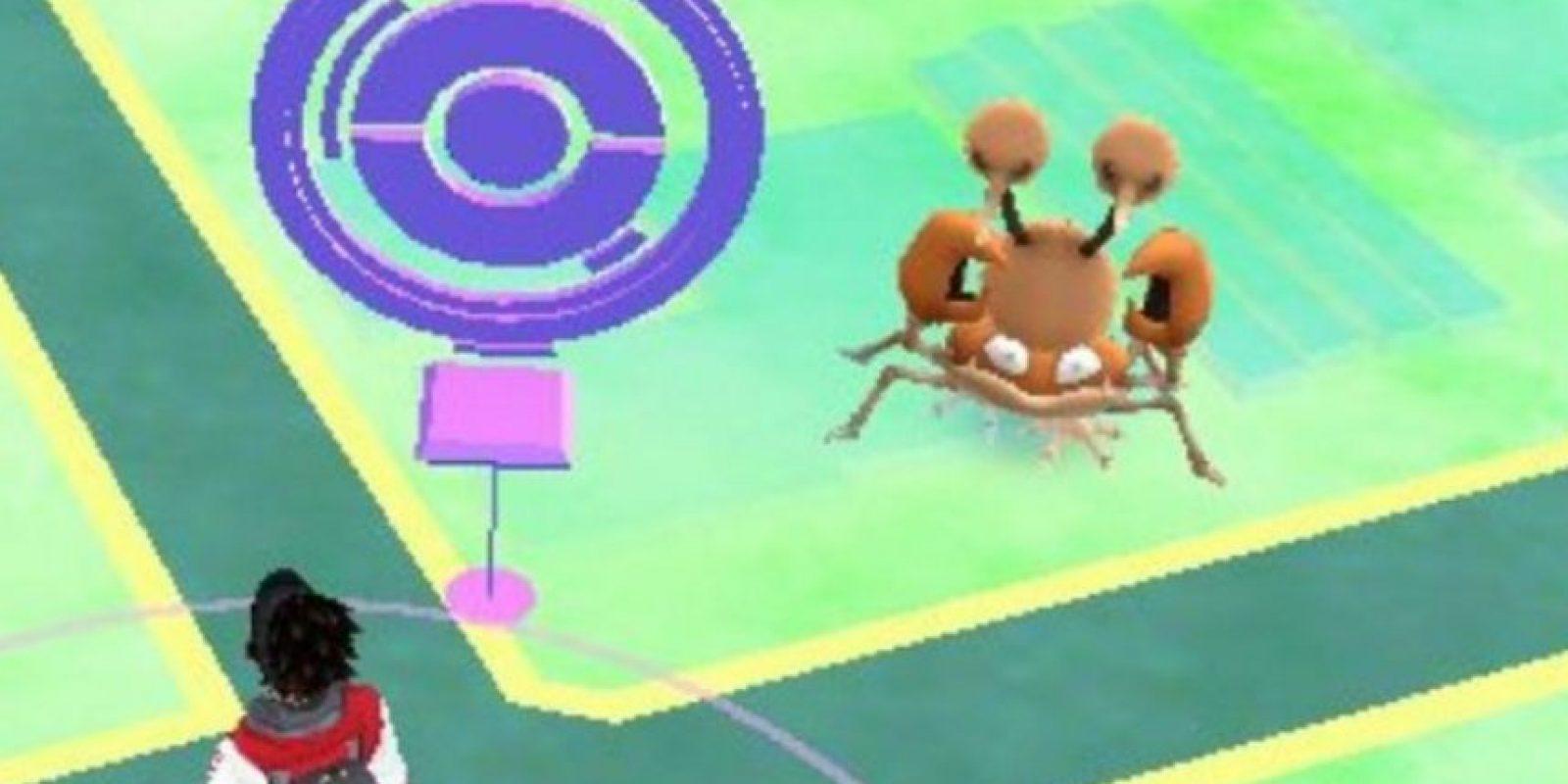 Niantic/NIntendo Foto:¿Un cangrejo con afro?