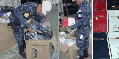 Incautan mercadería procedente de China en Puerto Quetzal