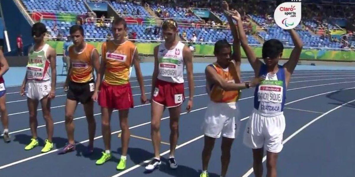 La dedicatoria de Óscar Raxón luego de correr en los Paralímpicos