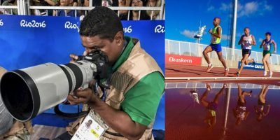 El fotógrafo invidente sorprende en los Paralímpicos de Río 2016