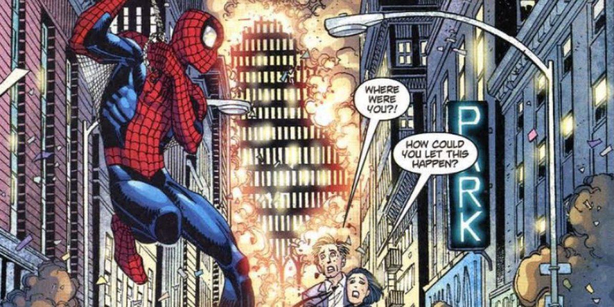 ¿Qué hicieron los superhéroes durante el 9/11?