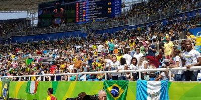 Carlos Barrios es el único oficial de habla hispana en las pruebas del atletismo paralímpico en Rio 2016. Foto:Cortesía Carlos Barrios