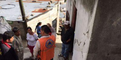 Conred busca trasladar a 150 familias de tres asentamientos en alto riesgo por las lluvias