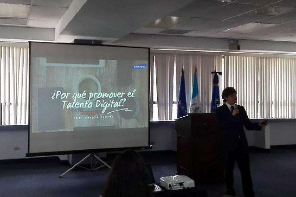 Sergio Flores, de Samsung, resaltá la importancia del talento digital en el país Foto:Agexport