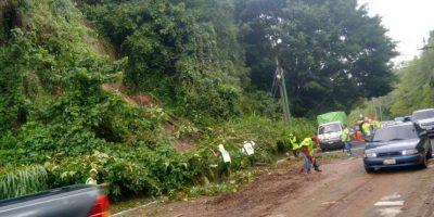 La lluvia dejó más de 5 mil afectados el domingo y continuará en los próximos días