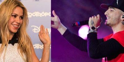 Shakira y Maluma preparan nueva canción juntos