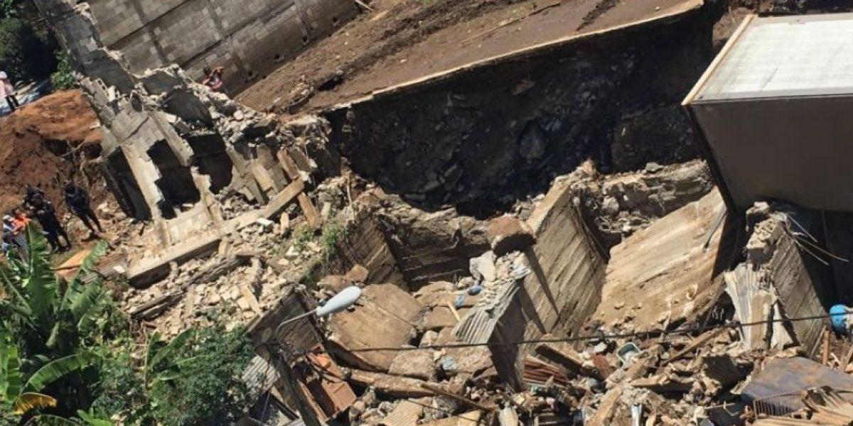 Lluvias dejan en riesgo a millones de guatemaltecos en 8 mil puntos, según la Conred