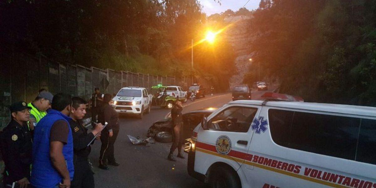 Accidente genera caos en el tránsito de Villa Canales