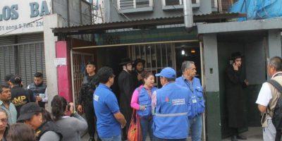 Allanan viviendas de judíos en la zona 9 por caso de maltrato infantil