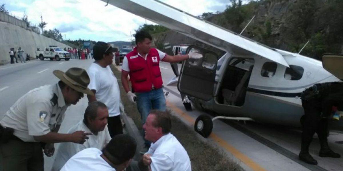 Cae avioneta en la ruta al Atlántico en Sanarate