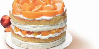 """""""Big Peach"""", el pastel ideal para los amantes de la espumilla y el melocotón"""