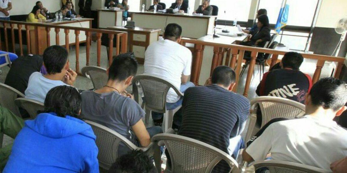Tribunal emite condenas a 21 pandilleros por exigir dinero semanal a los choferes de buses y taxis