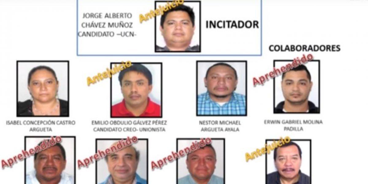 Quedan libres las personas que quemaron papeletas en Malacatán tras recibir pena conmutable