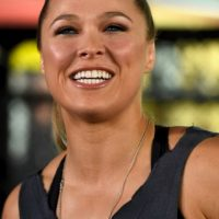 Getty Images Foto:Ronda Rousey antes de su primera derrota