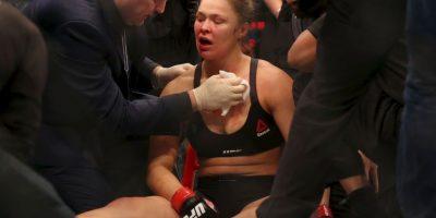Getty Images Foto:Ronda después de su descalabro ante Holly Holm
