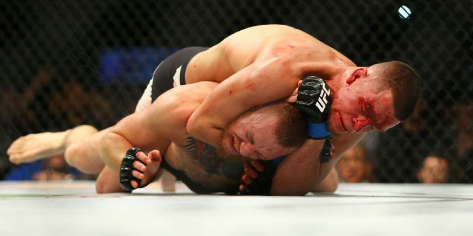 Getty Images Foto:McGregor al final de esa pelea