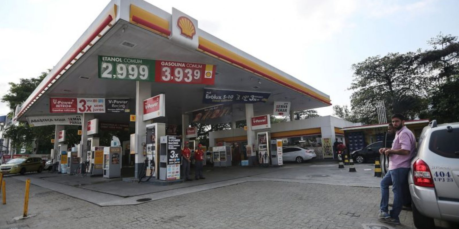 Getty Images Foto: Orinó en las paredes de una gasolinera