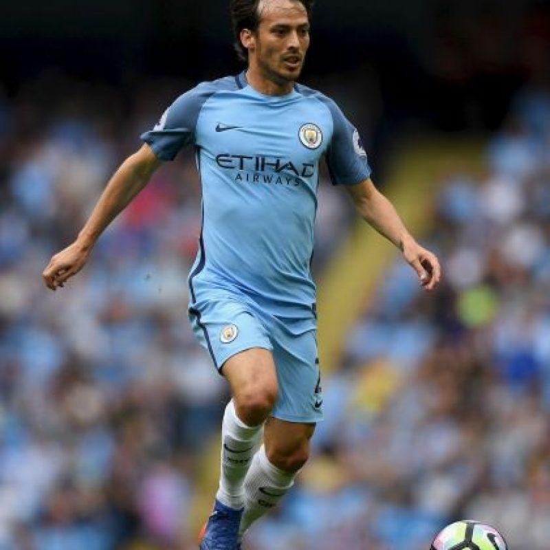 Getty Images Foto:David Silva (Manchester City)