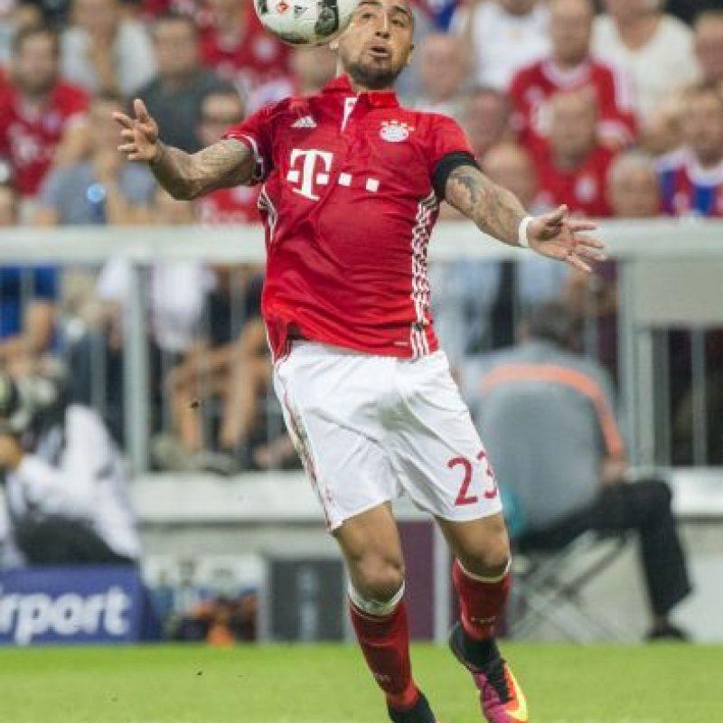 Getty Images Foto:Arturo Vidal (Bayern Múnich)