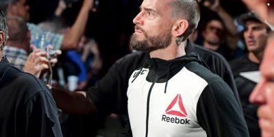 Getty Images Foto:CM Punk antes de su pelea del fin de semana