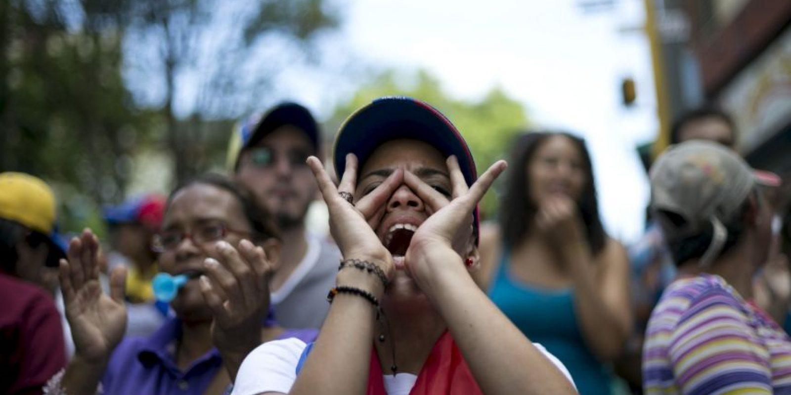 """AP Foto:Algo que Maduro calificó como """"perversas versiones"""" y rechazó esas negociaciones"""
