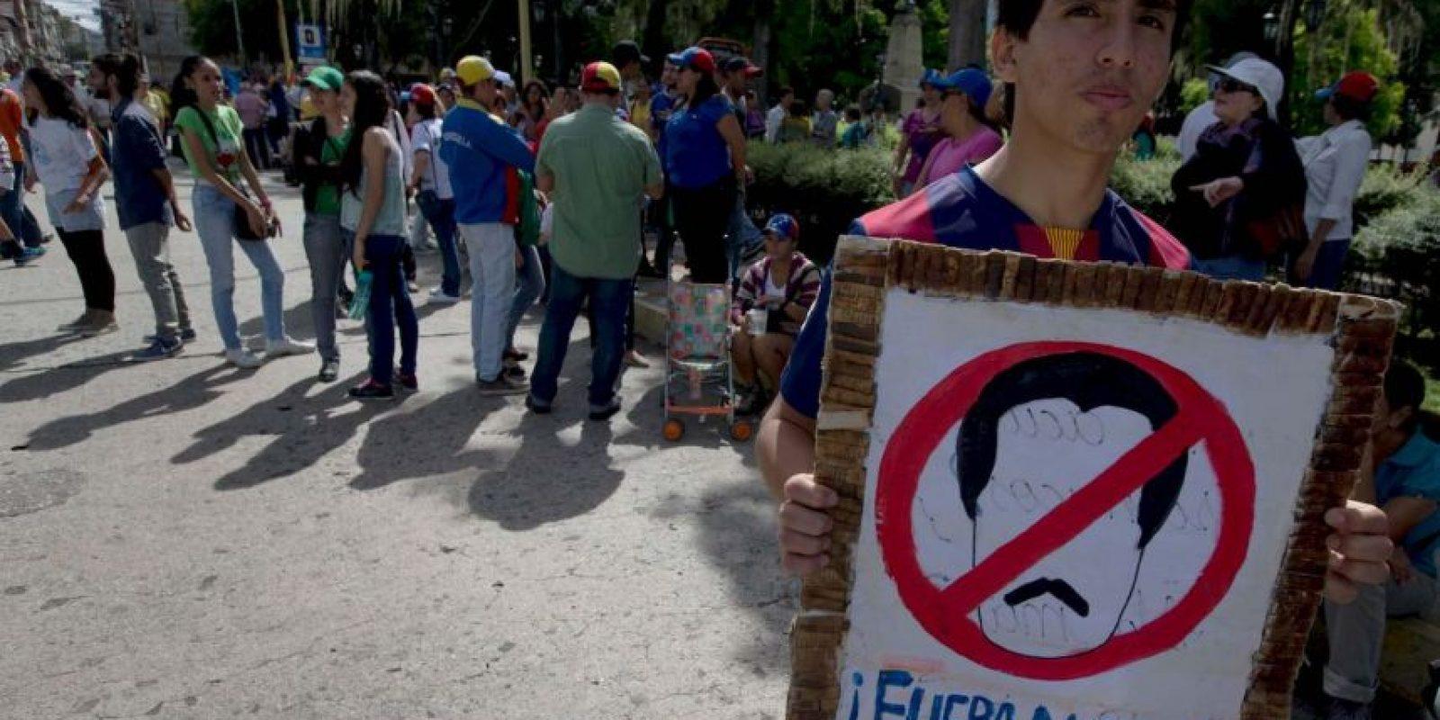 AP Foto:Mientras tanto, las protestas continúan