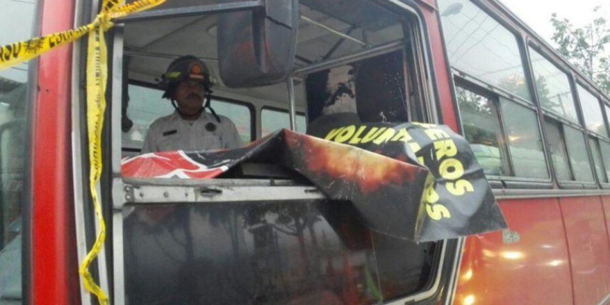 Asesinan a piloto de autobús de ruta 203 en la zona 6