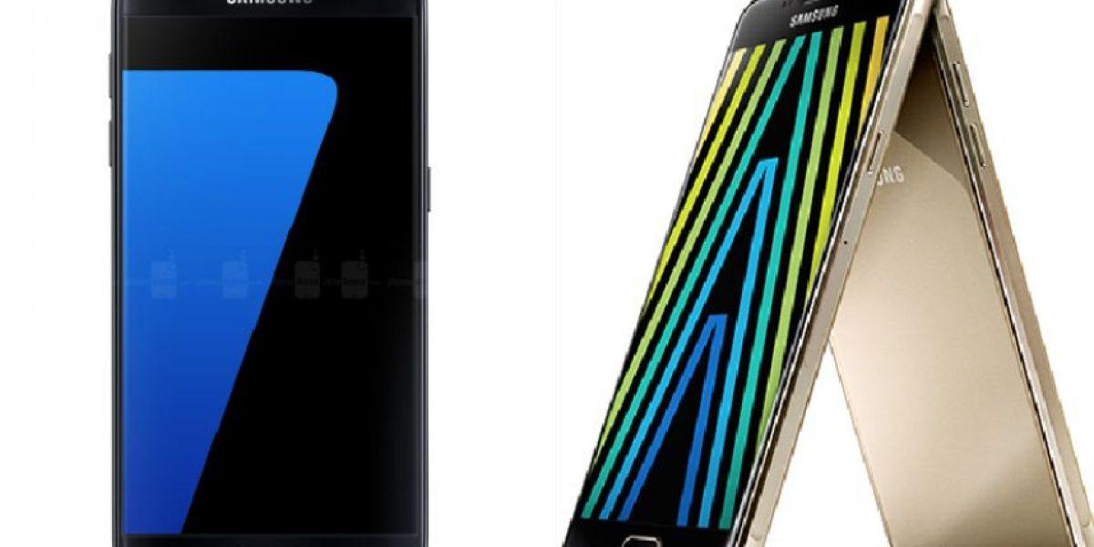 Los Samsung Galaxy S7 y Galaxy A maravillan por su diseño y rendimiento