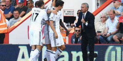 Getty Images Foto:Pese a la derrota ante el Manchester City, Mourinho no les quitó el día libre. La acción se mantendrá ganen o pierdan