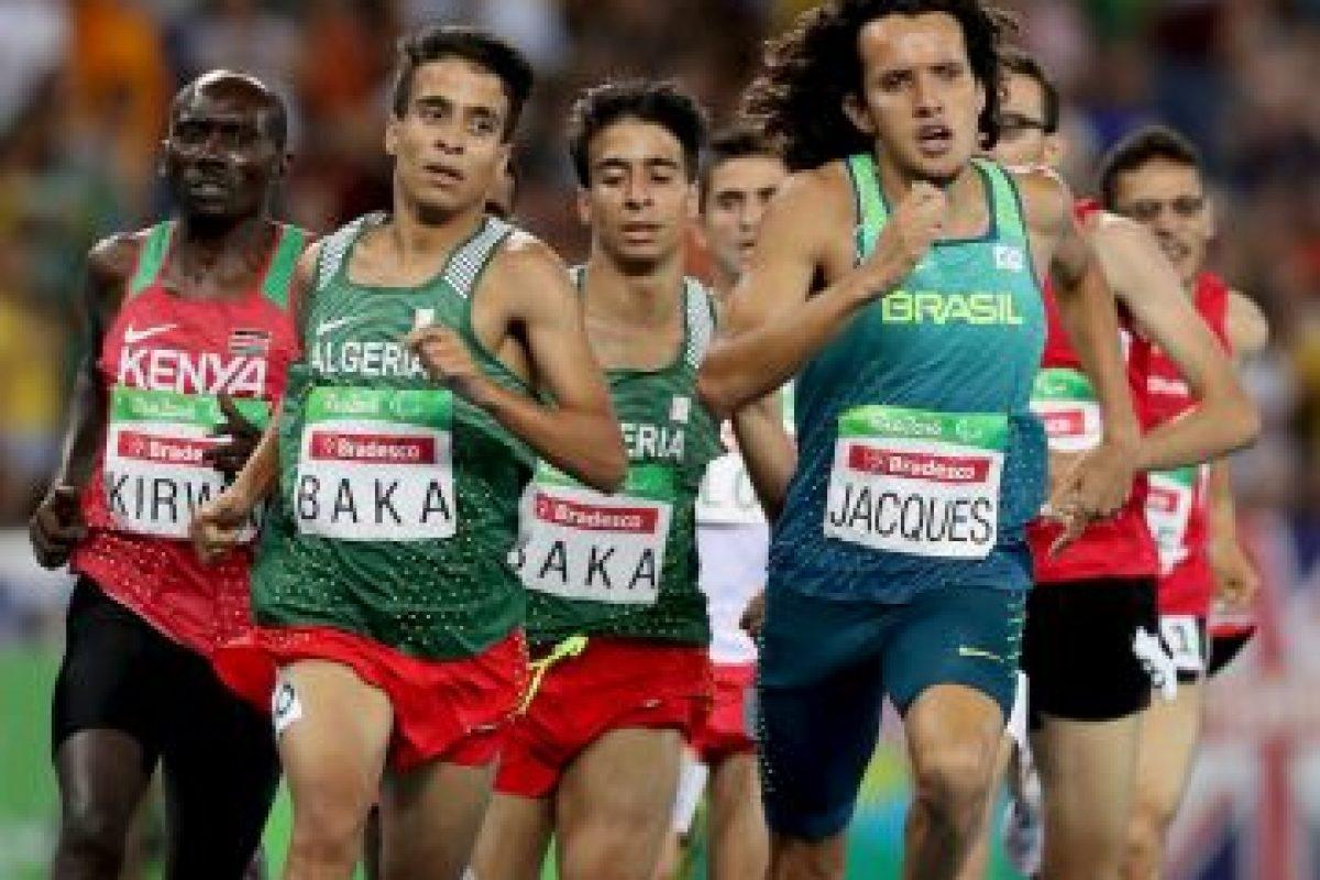 Getty Images Foto:Abdellatif Baka se impuso en los mil 500 metros