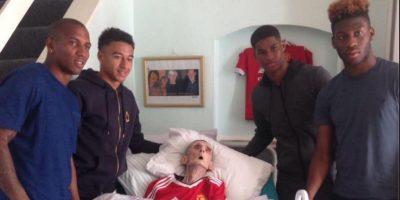 Hincha del Manchester United cumplió su sueño y murió a los 45 minutos