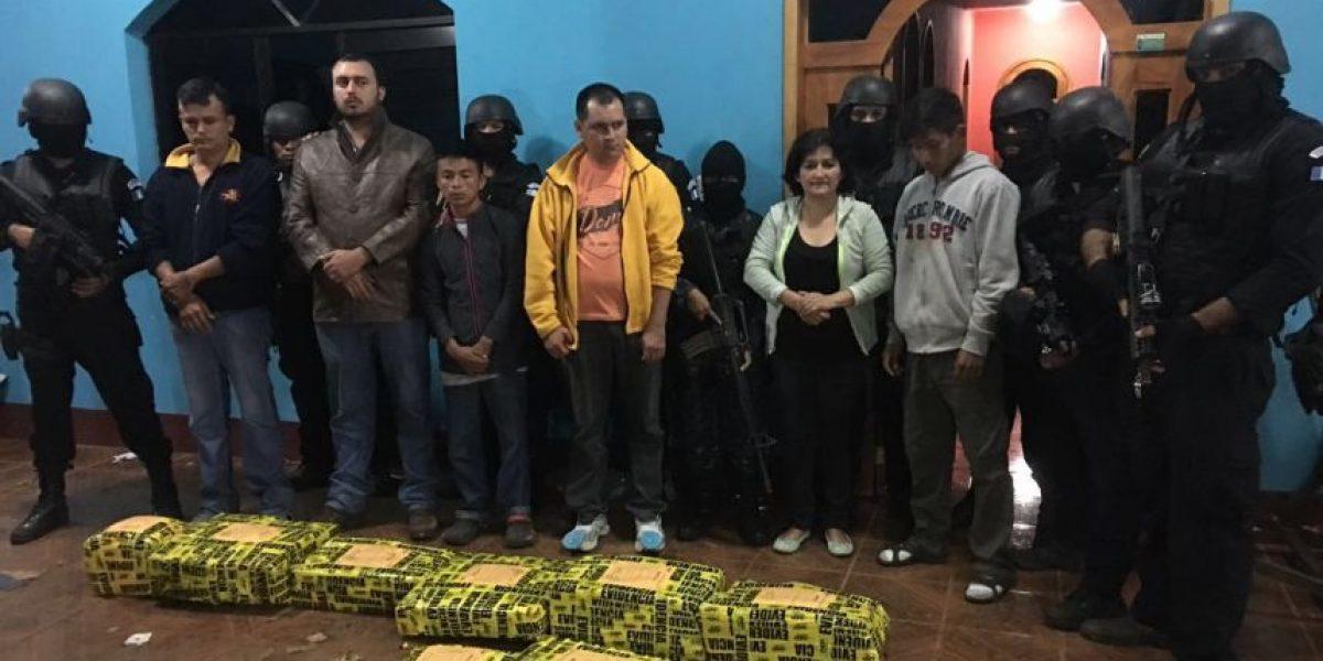 Operativo antidrogas en San Marcos deja seis capturados e incautación de cocaína