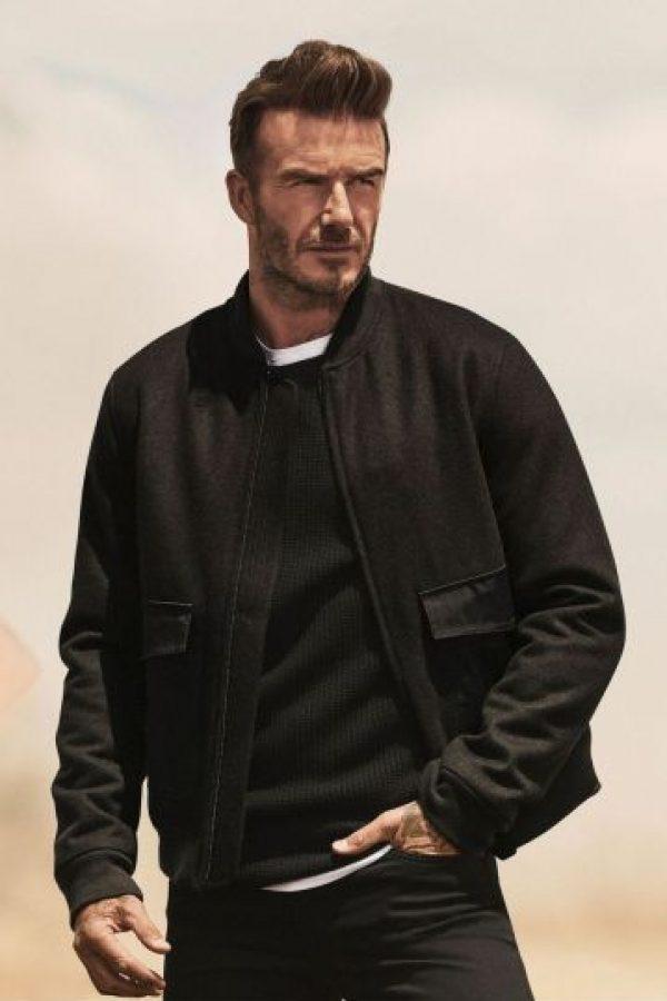David Beckham promociona la nueva línea en compañía de Kevin Hart Foto:H&M