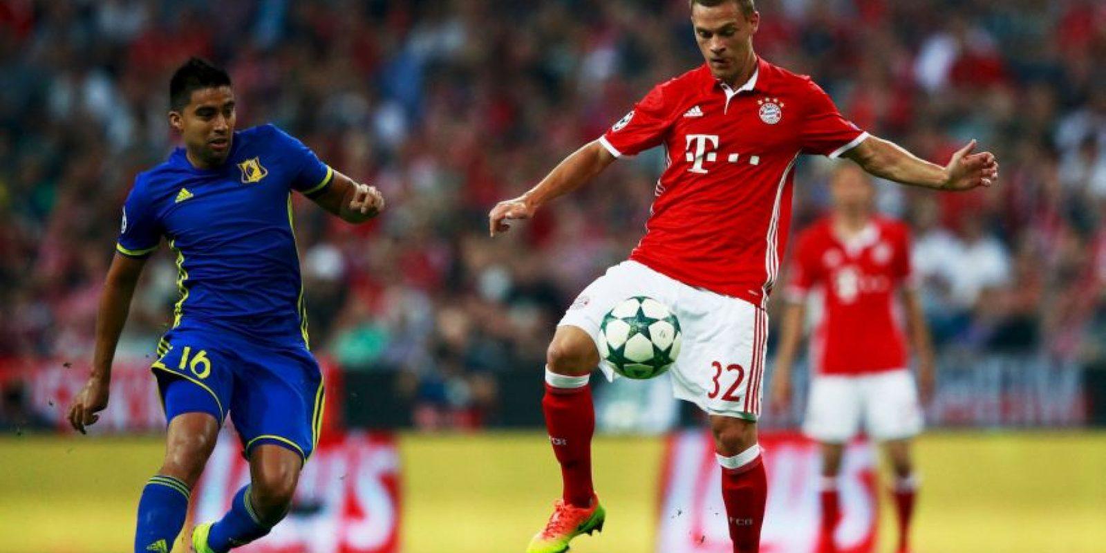 Se lució con dos goles en la victoria de Bayern Munich por 5 a 0 ante Rostov Foto:Getty Images