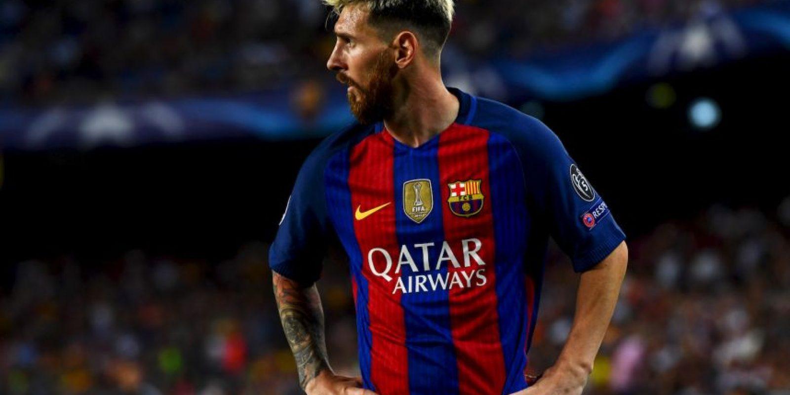 El atacante volvió a mostrar su nivel y marcó un triplete para Barcelona Foto:Getty Imahes