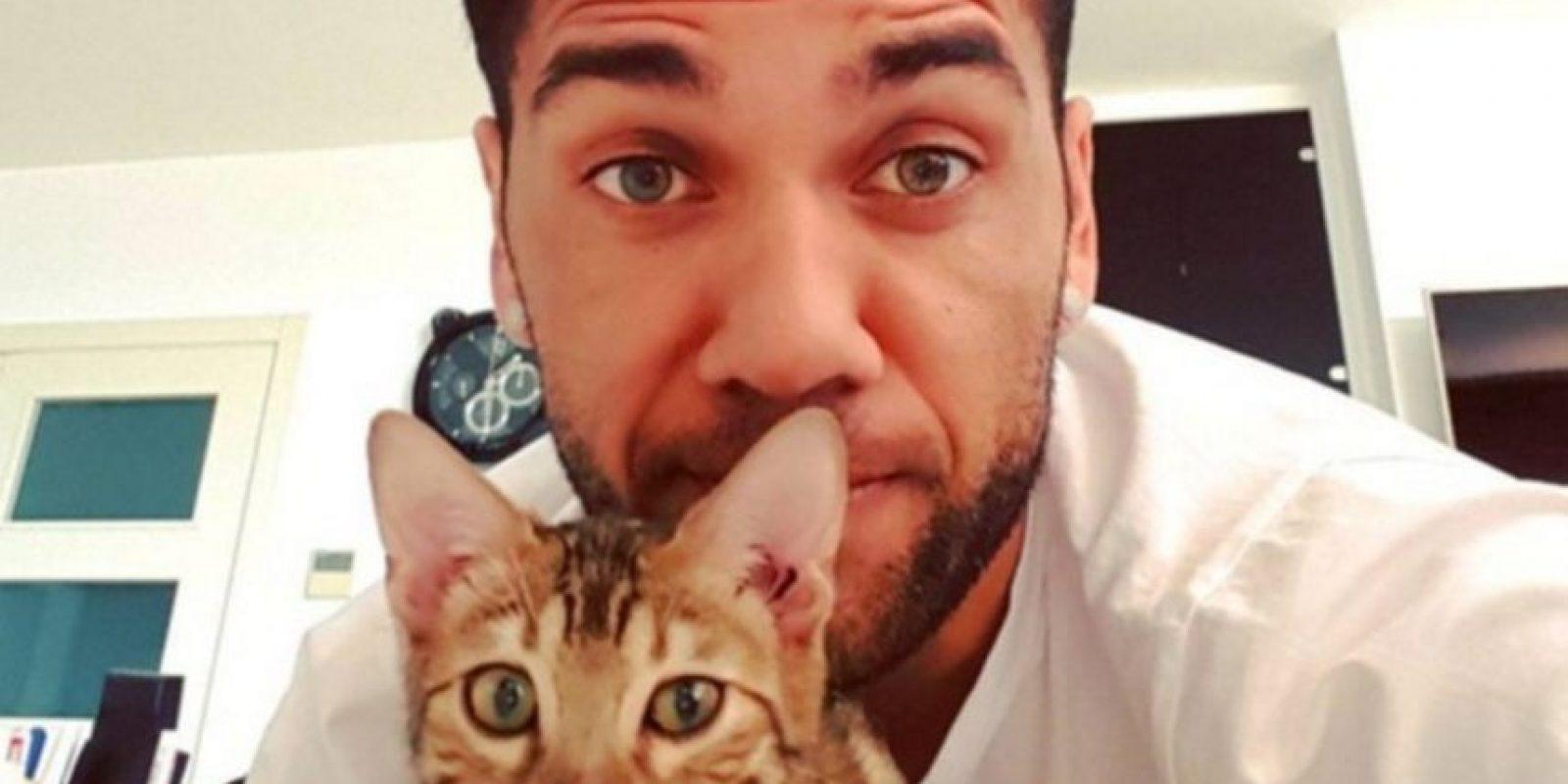 Instagram Foto:Dani Alves tiene un gato romano