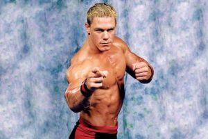 WWE Foto:John Cena con una cabellera rubia