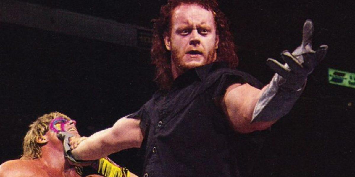 WWE: Así lucían Undertaker y otras estrellas cuando tenían cabello