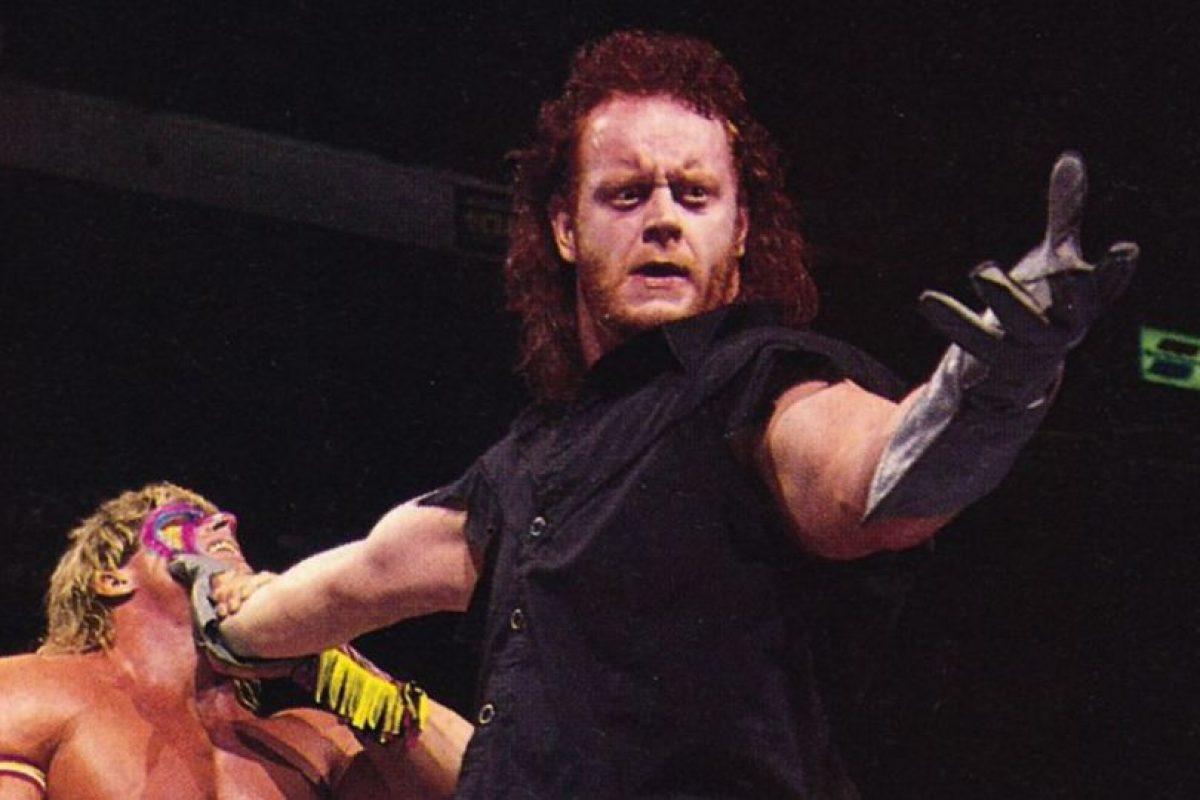 WWE Foto:Undertaker en una de sus primera luchas