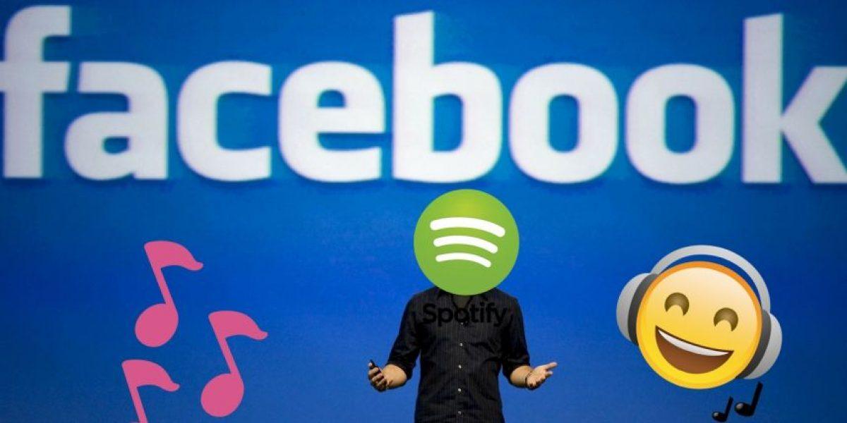 Facebook Messenger se alió con Spotify y se llenará de música