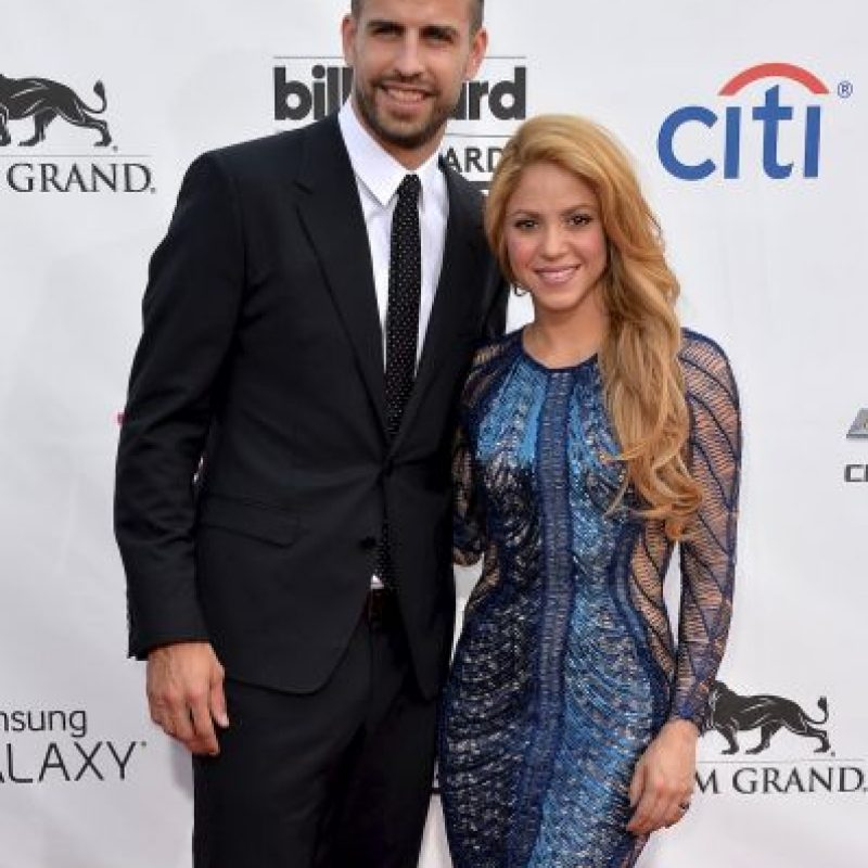 Getty Images Foto: Shakira y Gerard Piqué