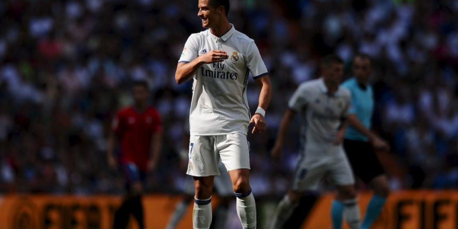 Getty Images Foto:El portugués sólo es superado por Taylor Swift.