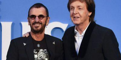 Paul McCartney y Ringo Starr se reúnen para estreno de documental de The Beatles